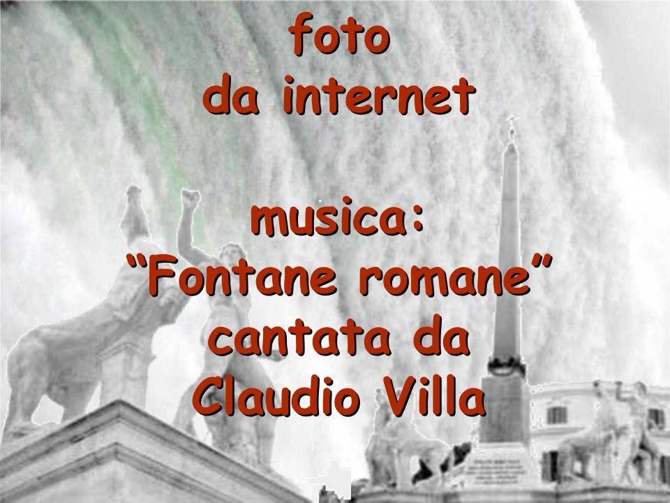 foto da internet musica: Fontane romane cantata da Claudio Villa