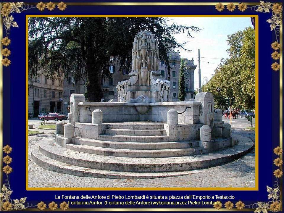Fontanna Amfor (Fontana delle Anfore) wykonana przez Pietro Lombardi