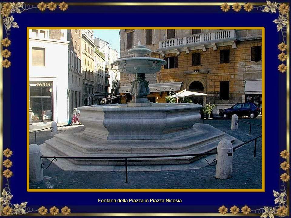 Fontana della Piazza in Piazza Nicosia