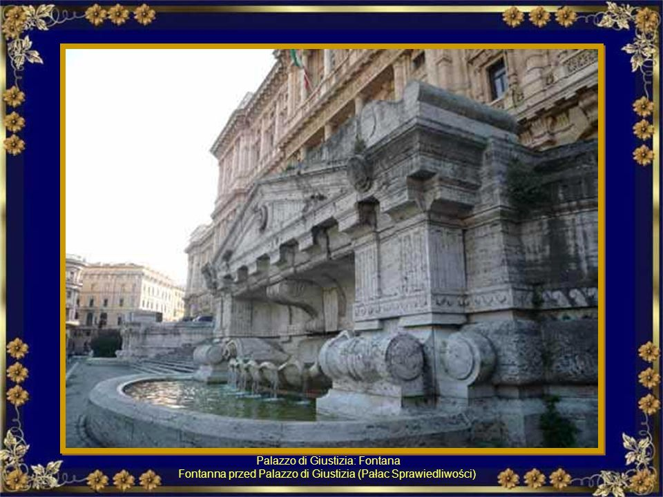 Palazzo di Giustizia: Fontana