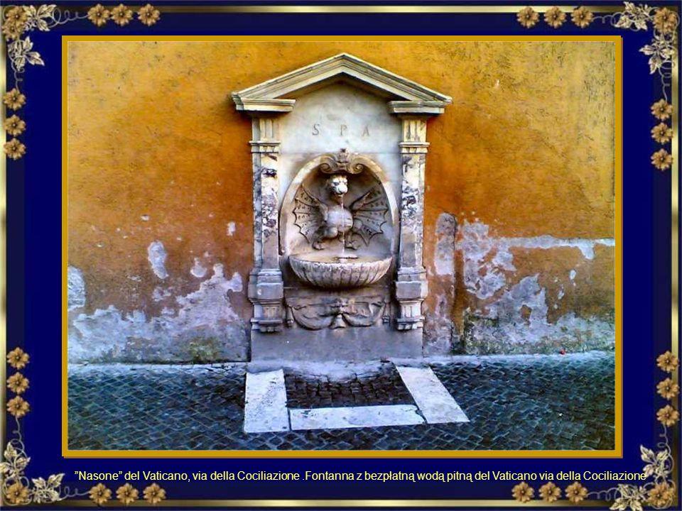 Nasone del Vaticano, via della Cociliazione