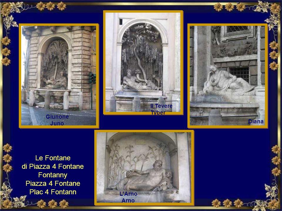 Le Fontane di Piazza 4 Fontane Fontanny Piazza 4 Fontane