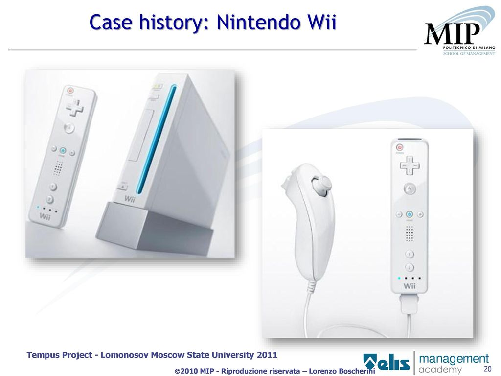 wii case study This is particularly interesting from a strategy point of view because it's a wonderful example of a so-called blue ocean strategy  wii doesn't intend to be a .