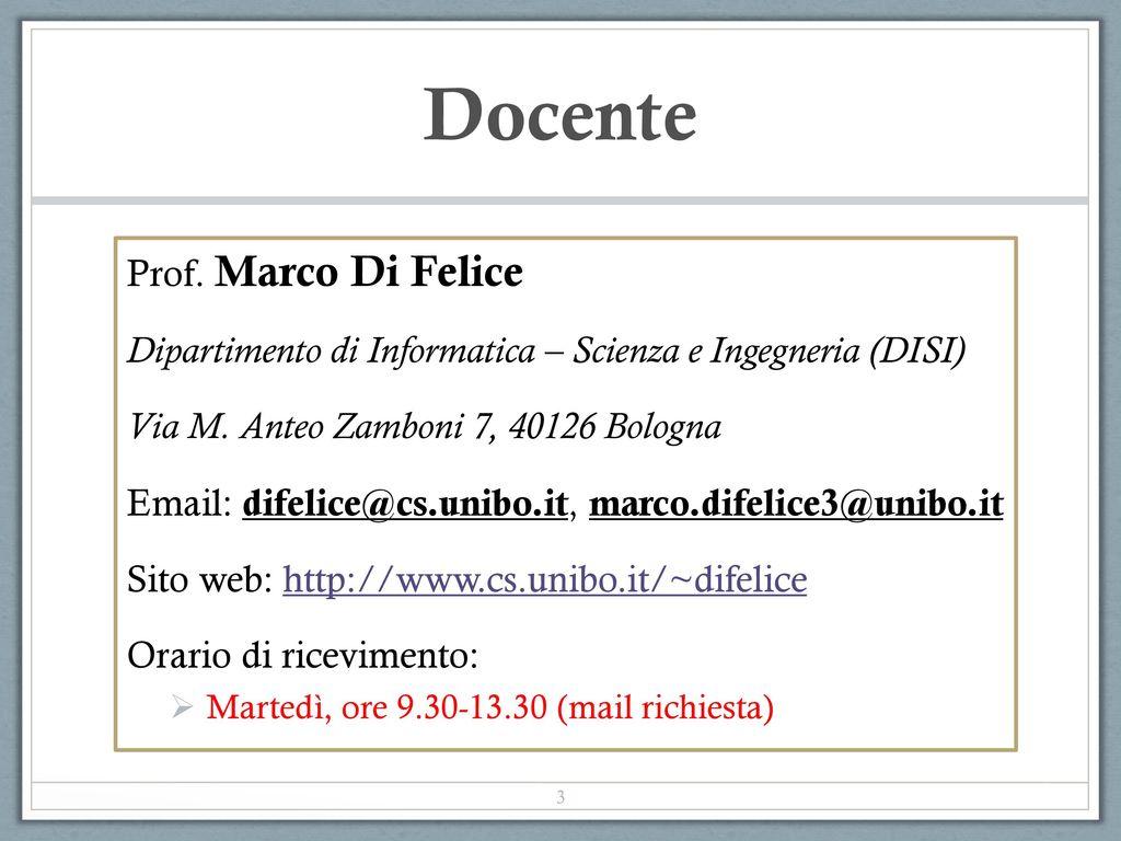 management e marketing bologna orario - photo#29