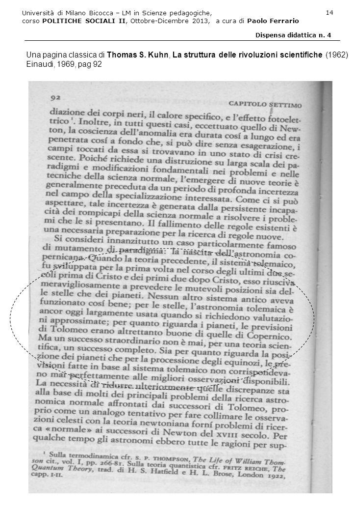 Una pagina classica di Thomas S