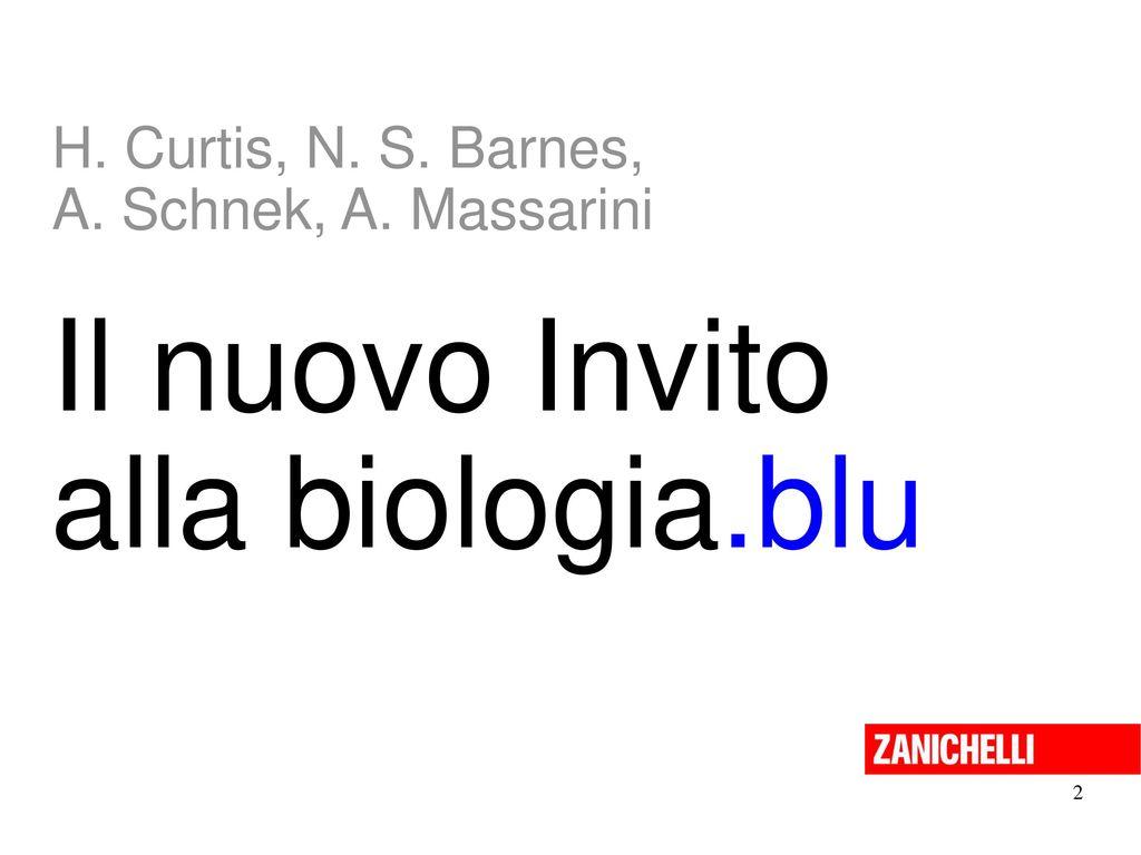 Il nuovo Invito alla biologia.blu