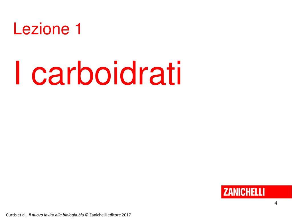 I carboidrati Lezione 1 4 13/11/11 4