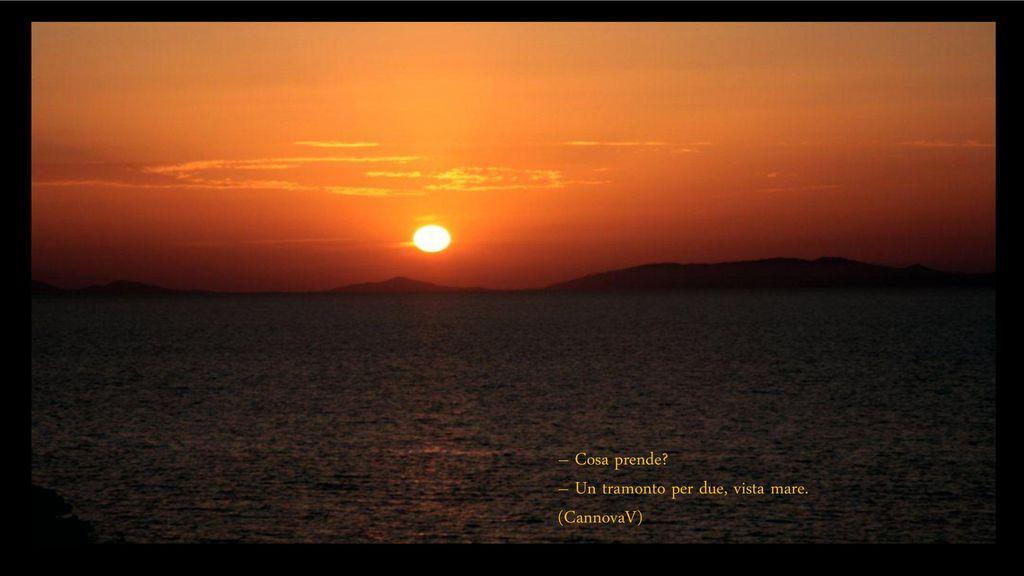 Preferenza Pensieri nel tramonto. Pensieri nel tramonto Quando vedo un  UW08