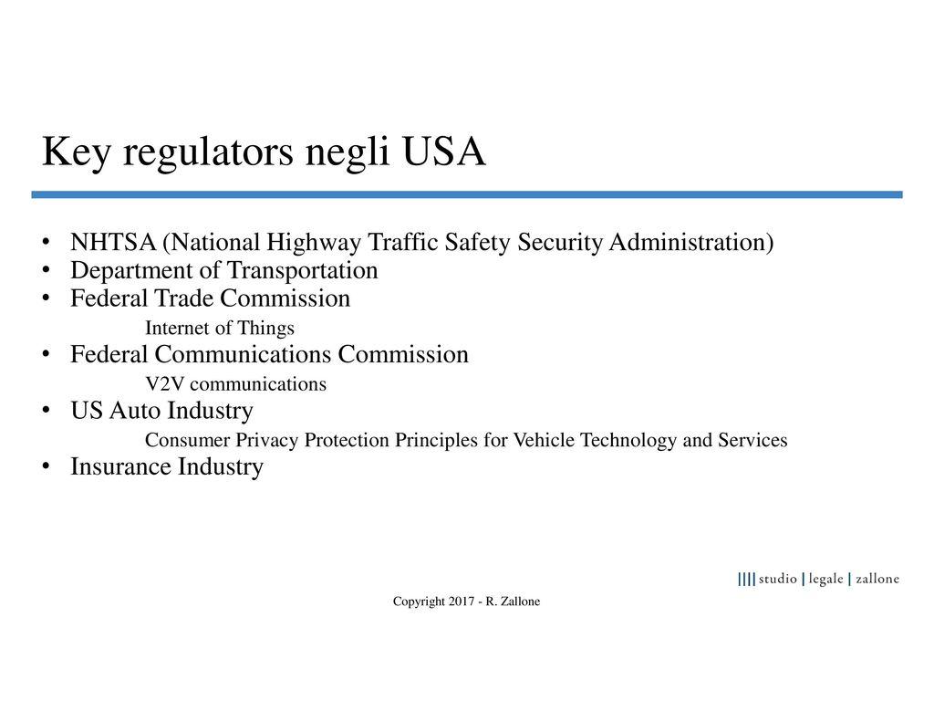 La legislazione sulle auto autonome negli usa ppt scaricare - Us federal trade commission bureau of consumer protection ...