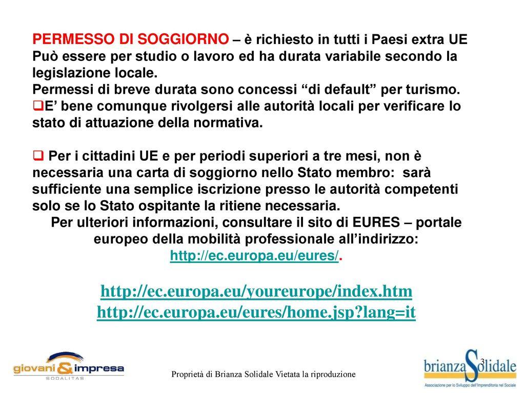 Stunning Testo Italiano Per Carta Di Soggiorno Contemporary - House ...