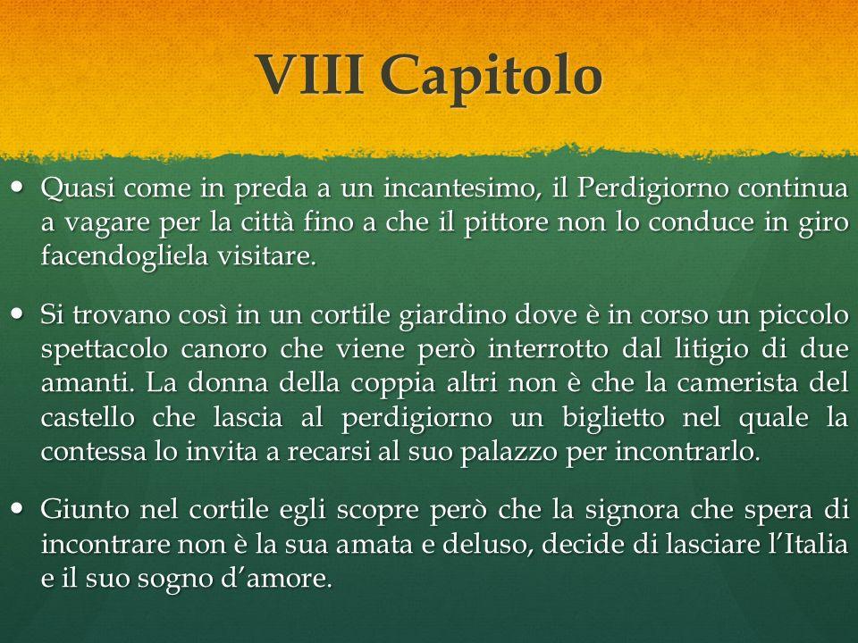 VIII Capitolo