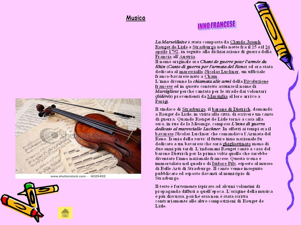 Musica INNO FRANCESE