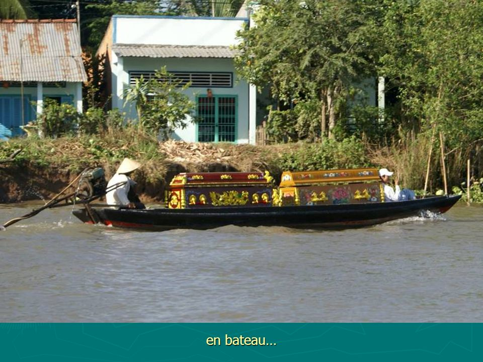 en bateau…