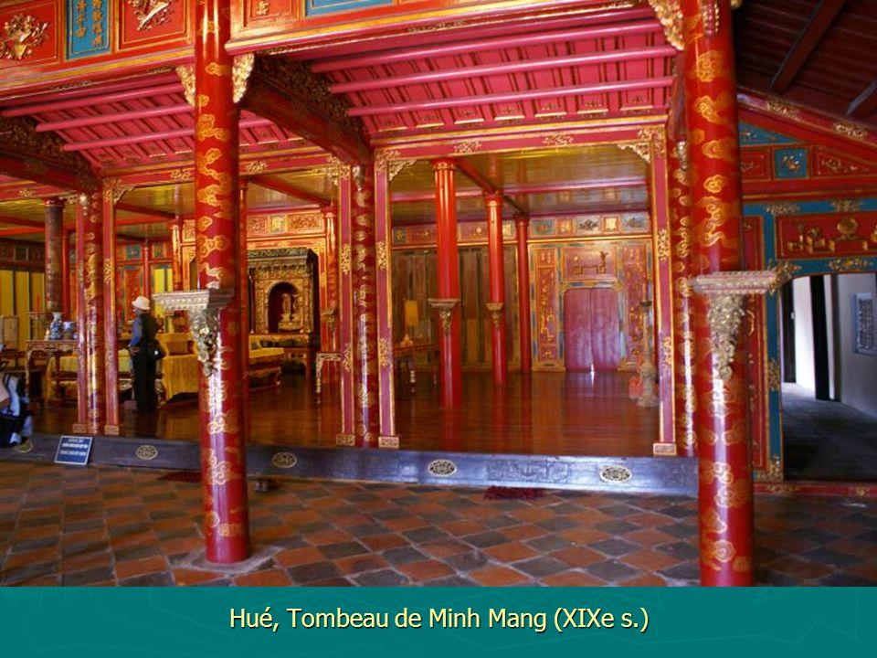 Hué, Tombeau de Minh Mang (XIXe s.)