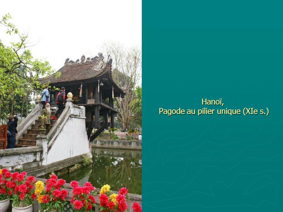 Hanoï, Pagode au pilier unique (XIe s.)