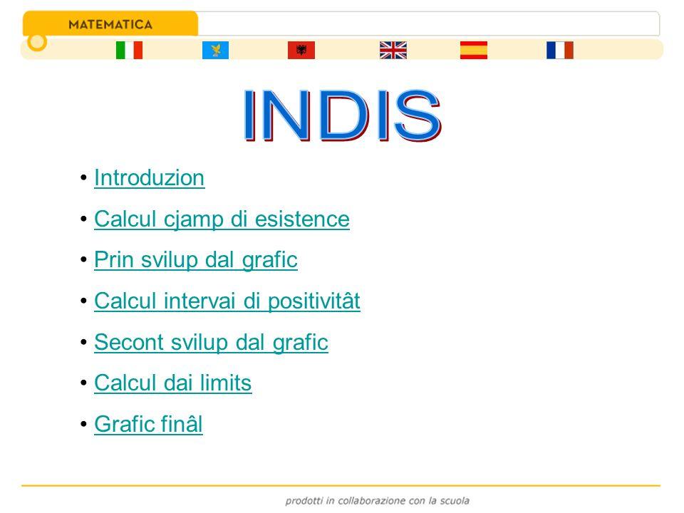 INDIS Introduzion Calcul cjamp di esistence Prin svilup dal grafic