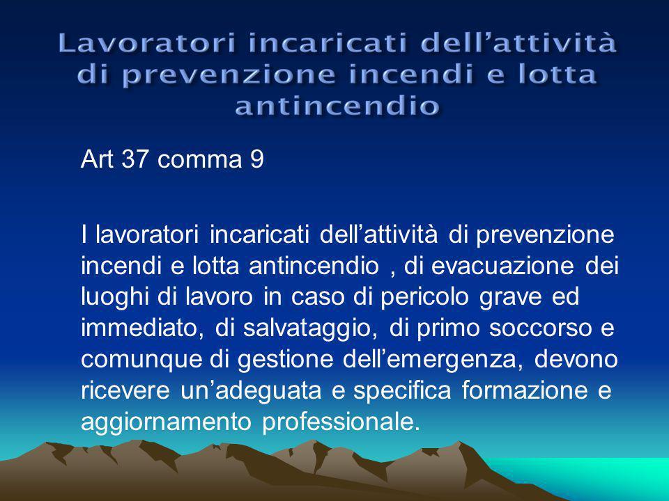 Art 37 comma 9
