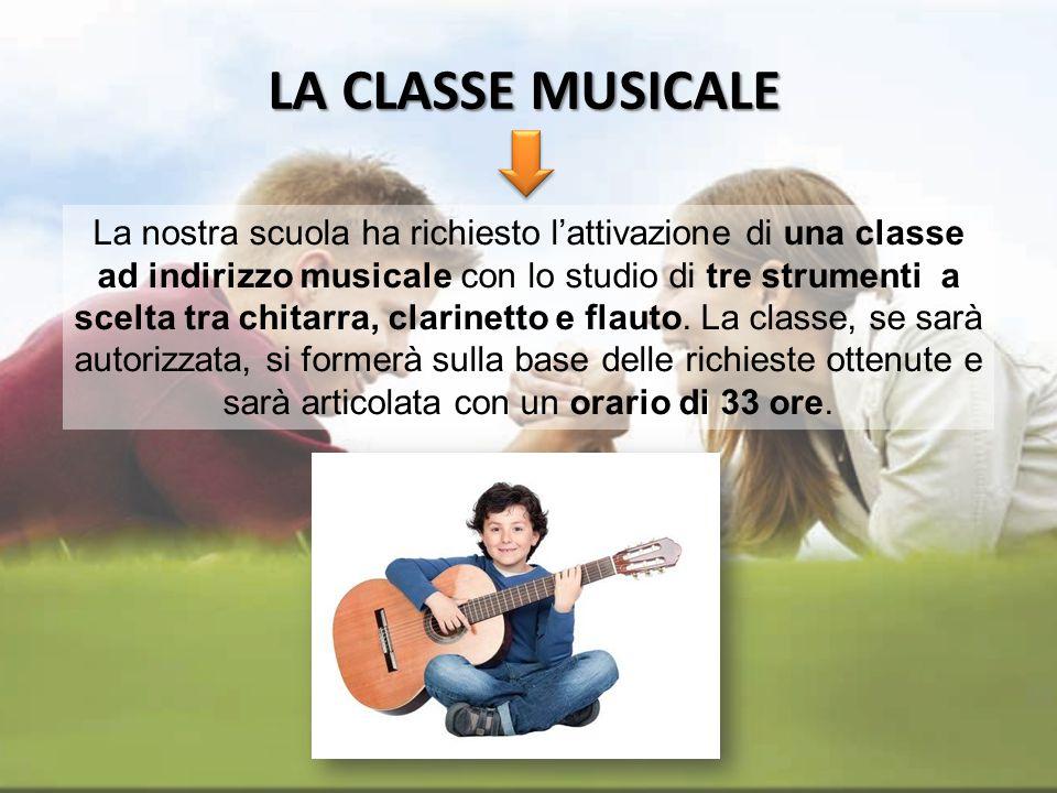LA CLASSE MUSICALE