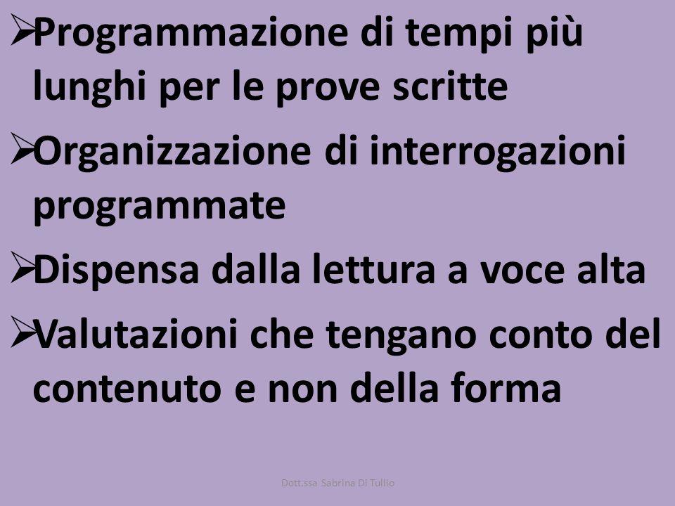 Dott.ssa Sabrina Di Tullio