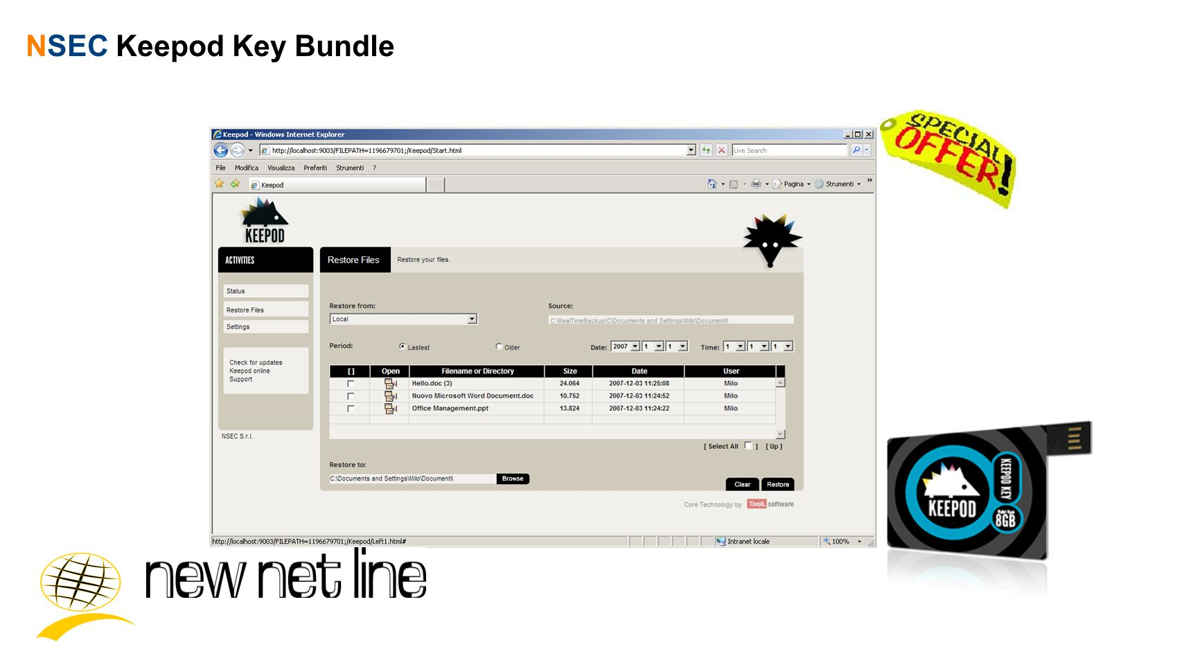 NSEC Keepod Key Bundle