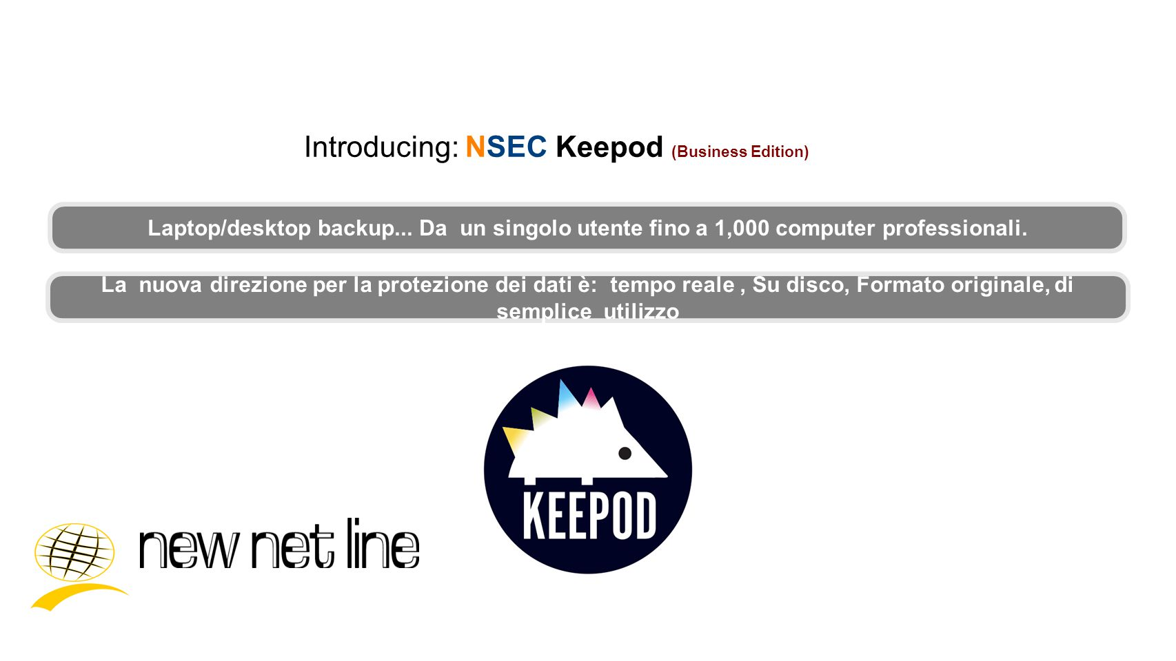 Introducing: NSEC Keepod (Business Edition)