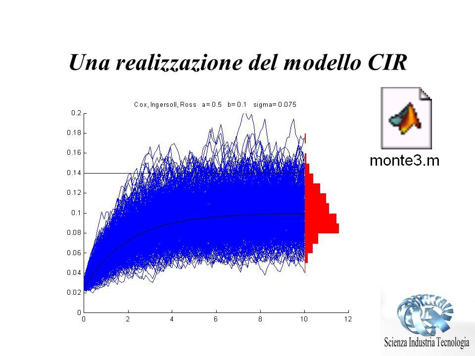 Una realizzazione del modello CIR