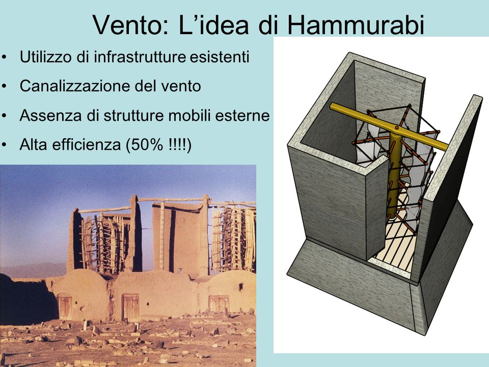 Vento: L'idea di Hammurabi
