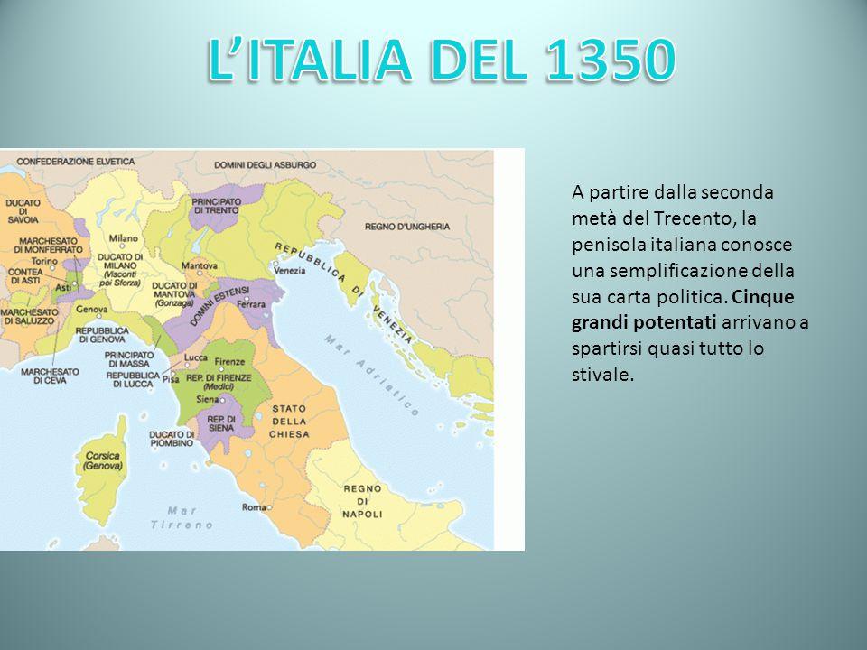 L'ITALIA DEL 1350