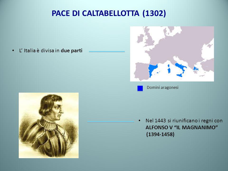 PACE DI CALTABELLOTTA (1302)