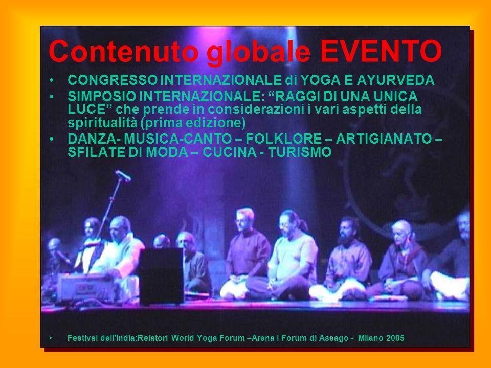 Contenuto globale EVENTO