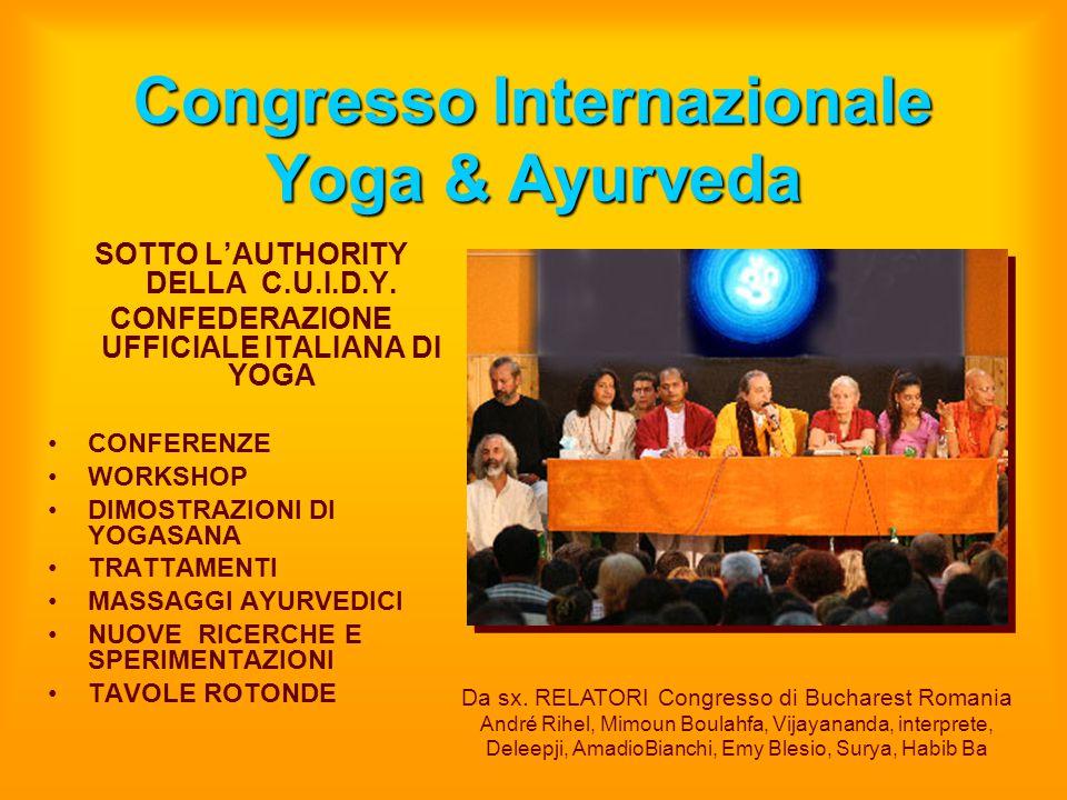 Congresso Internazionale Yoga & Ayurveda