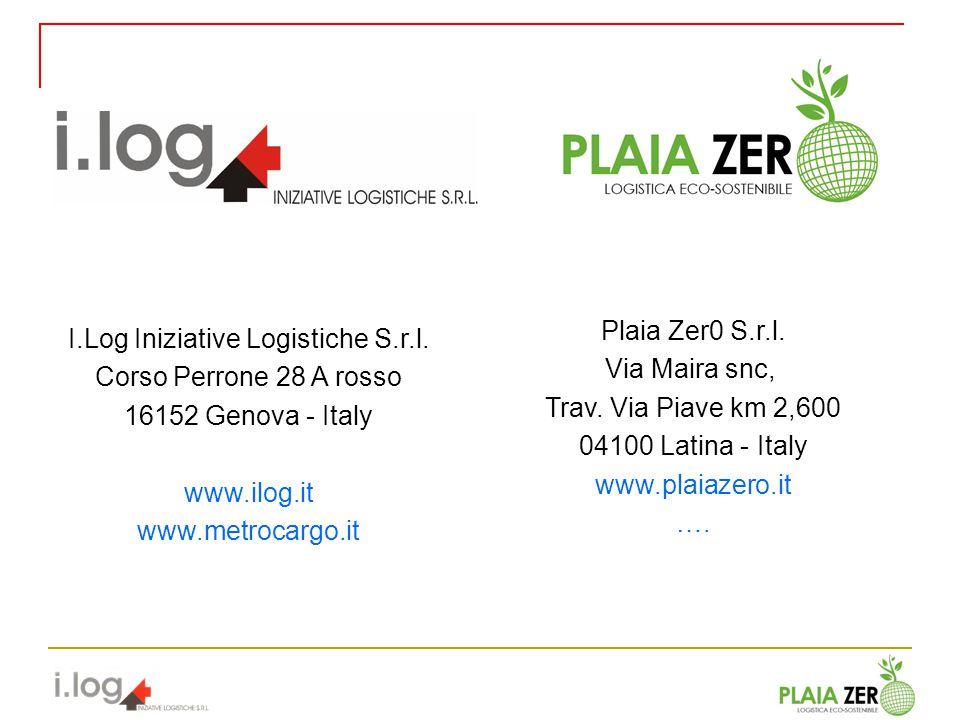 I.Log Iniziative Logistiche S.r.l.