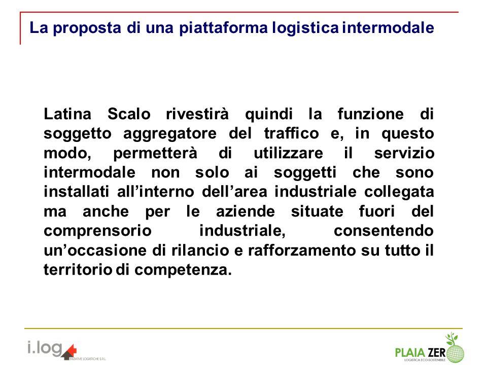 La proposta di una piattaforma logistica intermodale
