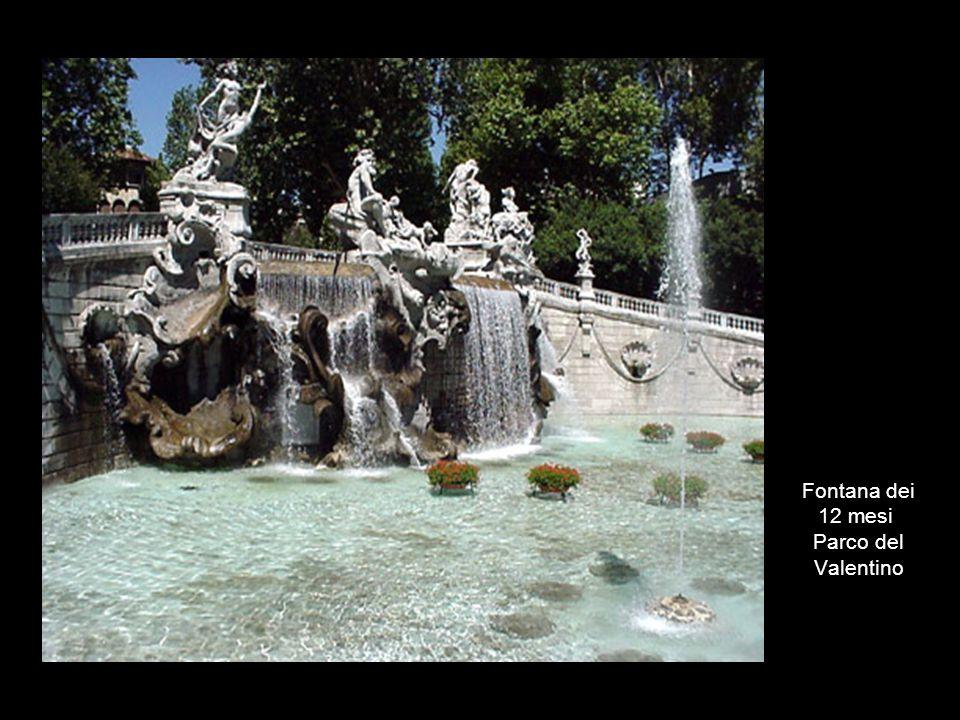 Fontana dei 12 mesi Parco del Valentino