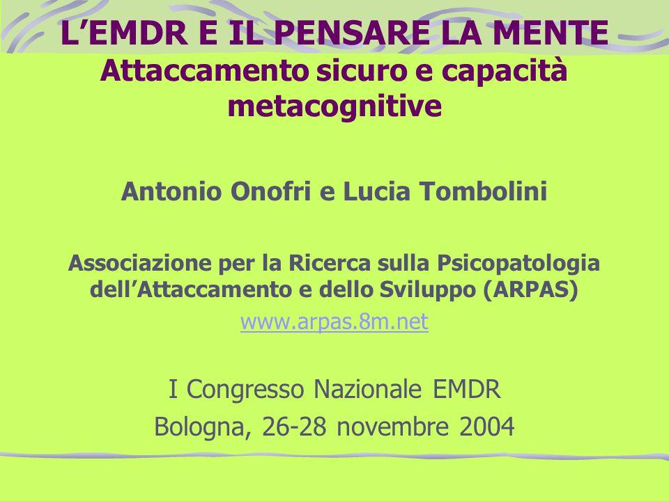 Antonio Onofri e Lucia Tombolini