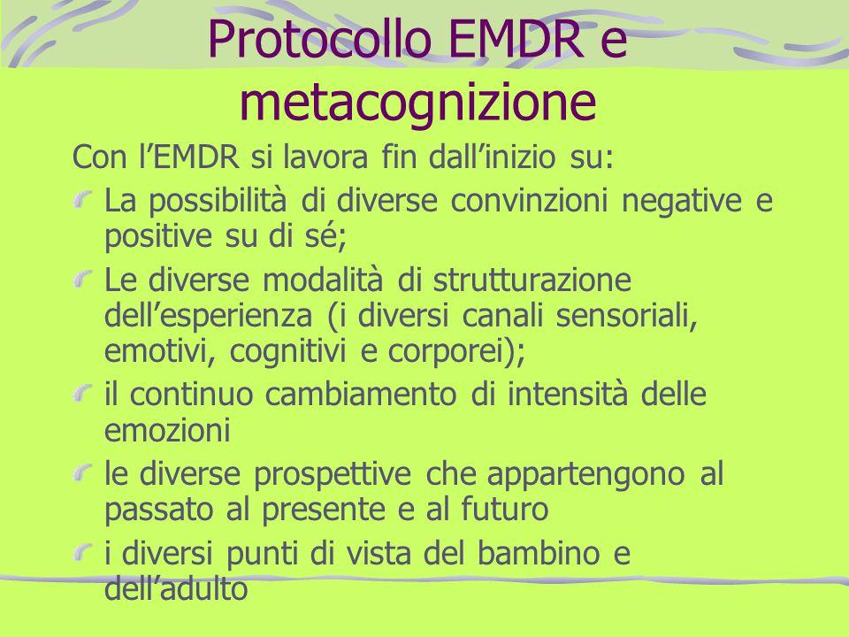 Protocollo EMDR e metacognizione