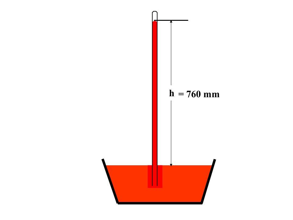 = 760 mm h