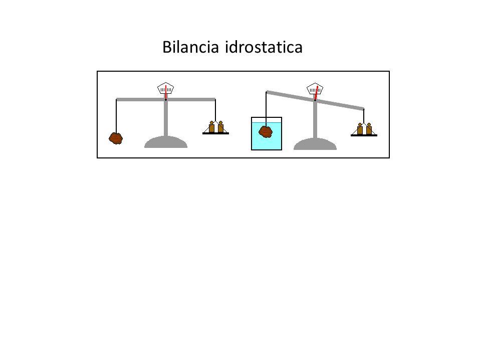 Bilancia idrostatica