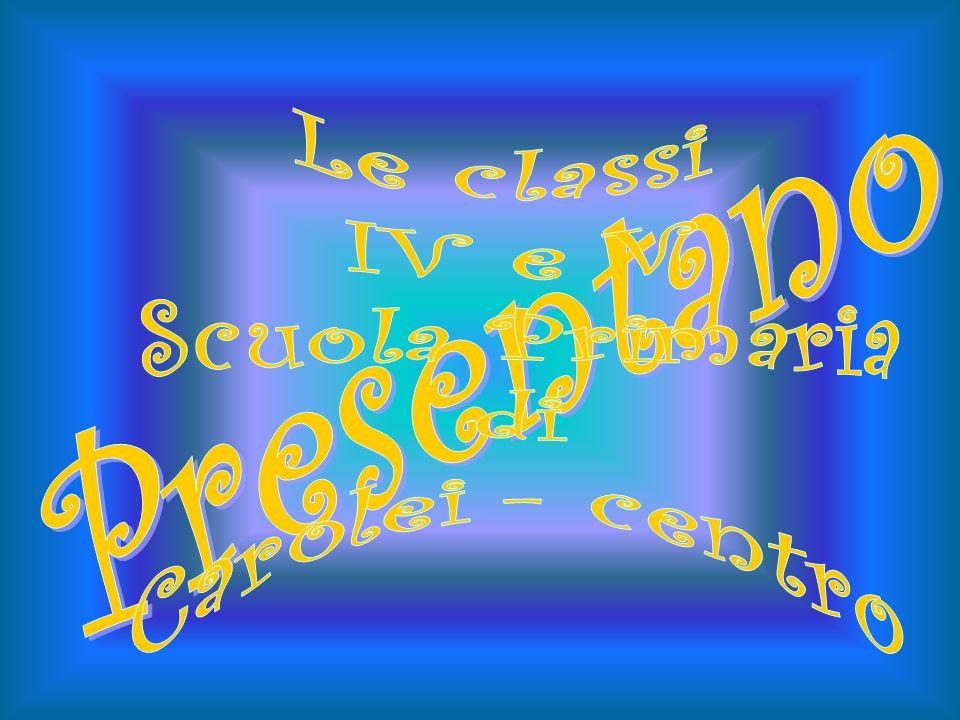 Le classi IV e V Scuola Primaria di Carolei - centro Presentano