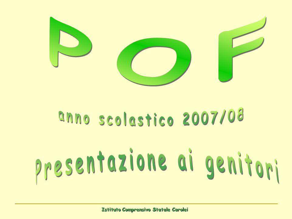 Presentazione ai genitori Istituto Comprensivo Statale Carolei