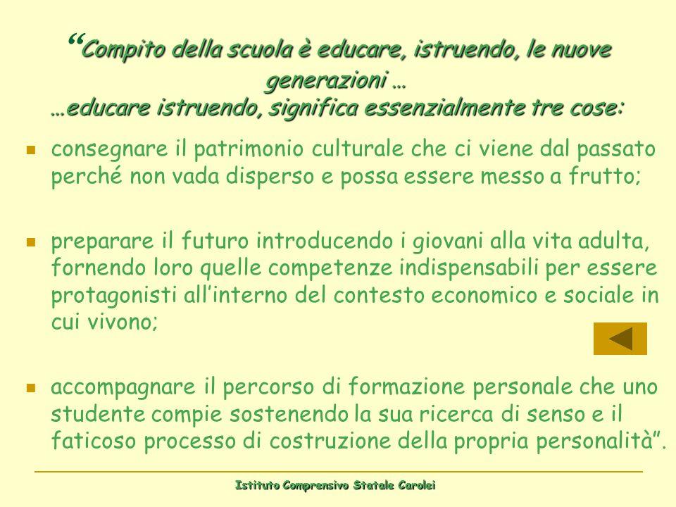Istituto Comprensivo Statale Carolei