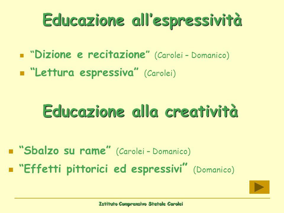 Educazione all'espressività