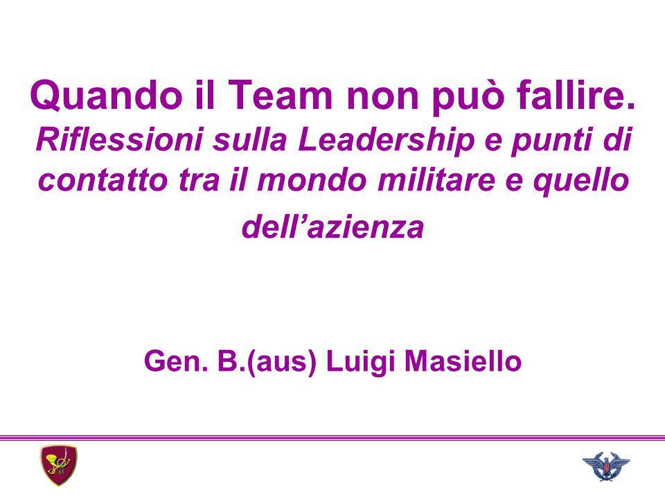Gen. B.(aus) Luigi Masiello
