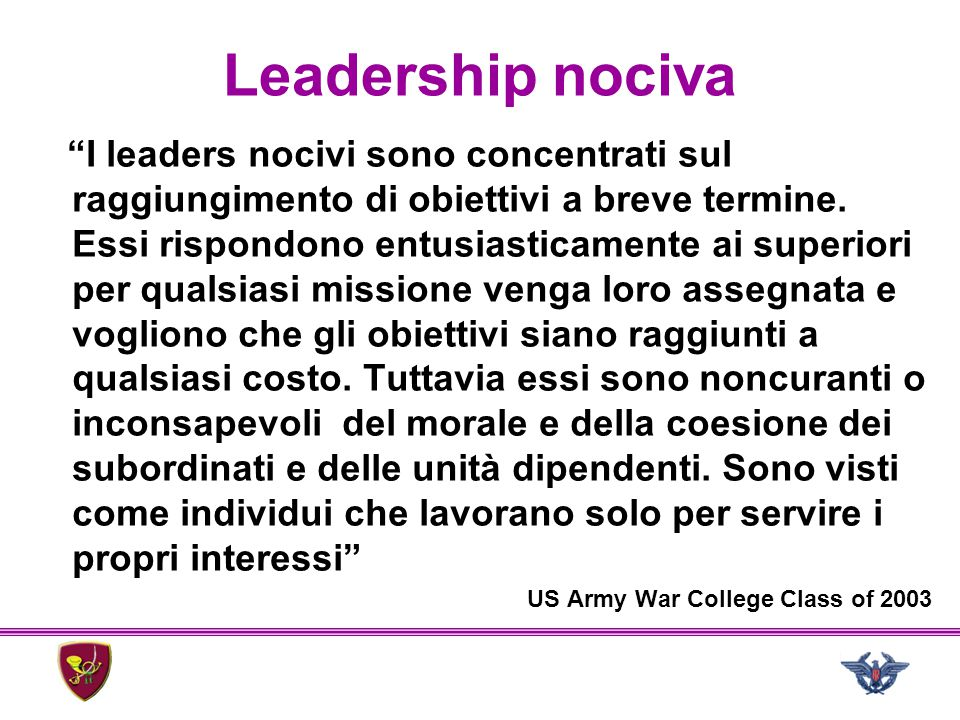 Leadership nociva