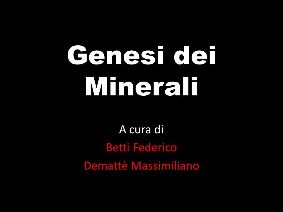 A cura di Betti Federico Demattè Massimiliano