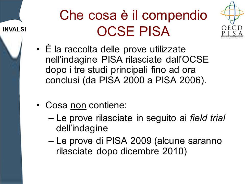 Che cosa è il compendio OCSE PISA