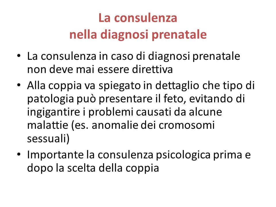 La consulenza nella diagnosi prenatale