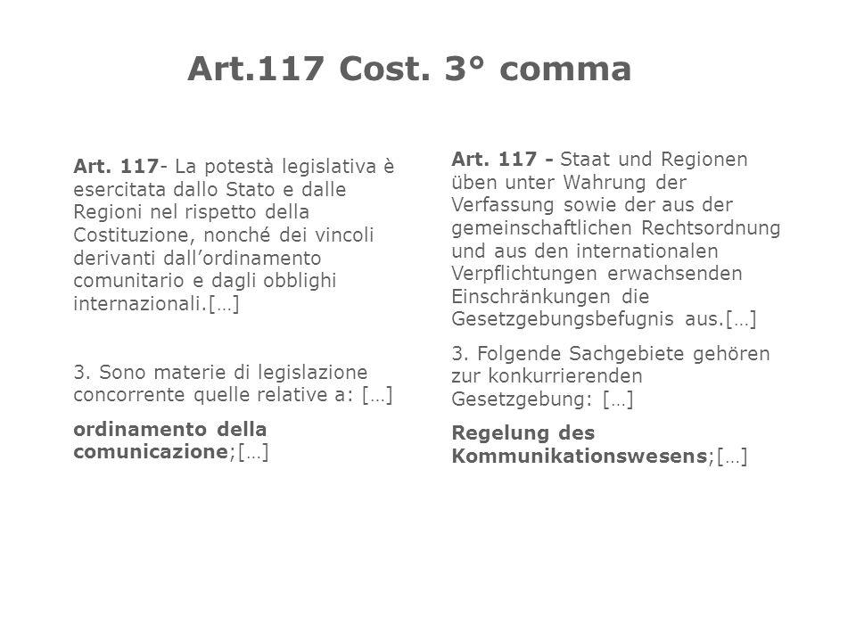 Art.117 Cost. 3° comma