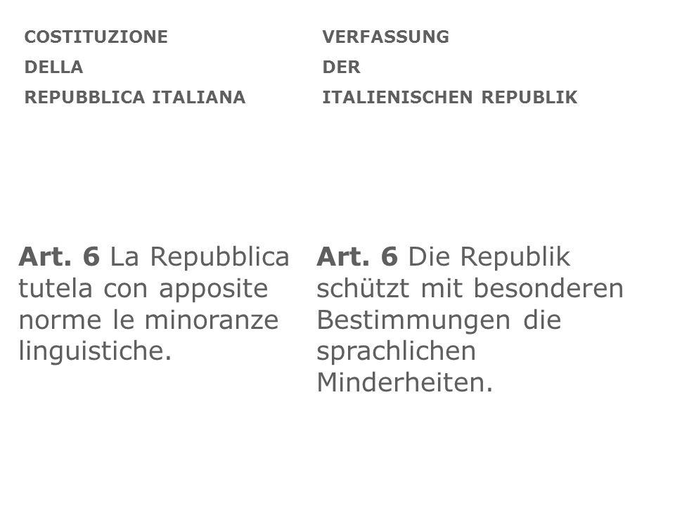 COSTITUZIONE DELLA. REPUBBLICA ITALIANA. VERFASSUNG. DER. ITALIENISCHEN REPUBLIK.