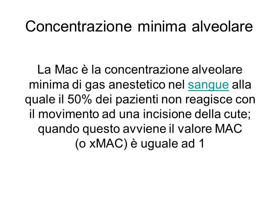 Concentrazione minima alveolare